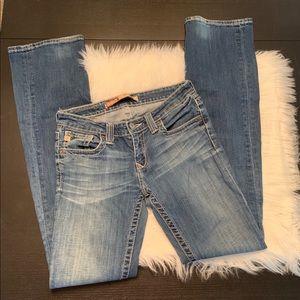 """Big Star jeans. Size 26L. Inseam 32""""."""